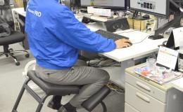 日本Thanko,缓解办公室久坐压力的产品:摇摇凳子