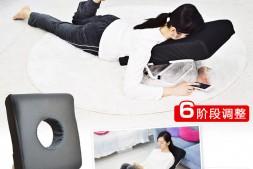 日本Thanko新款小沙发,护腰靠背垫,懒宅神器