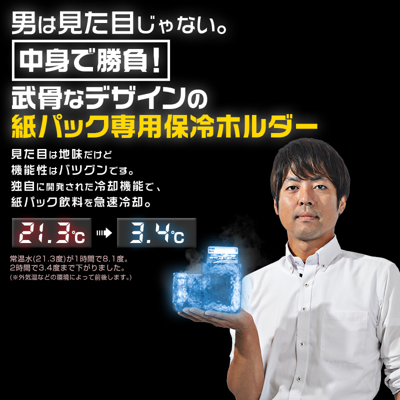 Thanko 纸盒装饮料制冷器 SUPER COLD BOX