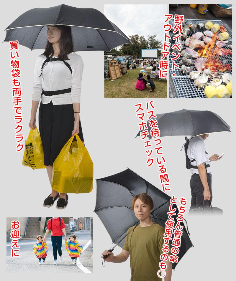 Thanko 公司产品,创意雨伞